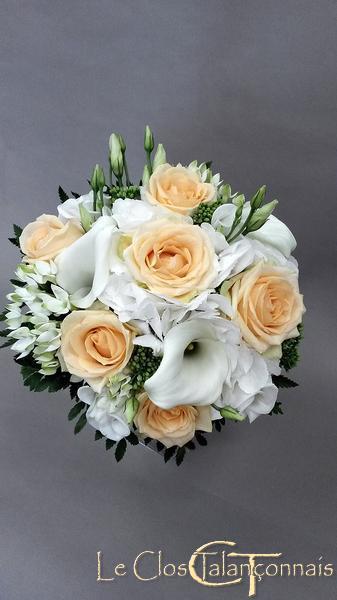 bouquet de marie rose et blanc wdbs un bouquet de roses. Black Bedroom Furniture Sets. Home Design Ideas