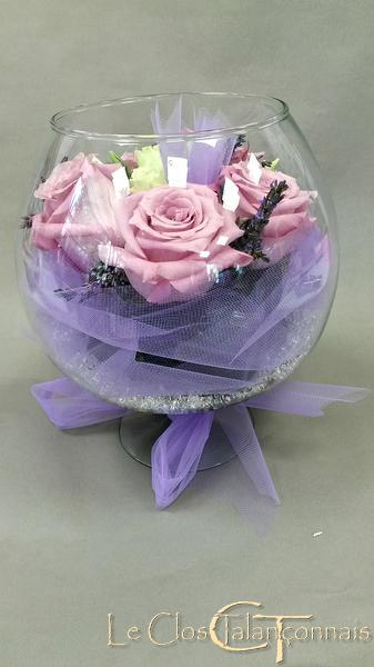 centre-de-tables-en-fleur-theme-lavande-et-tulle
