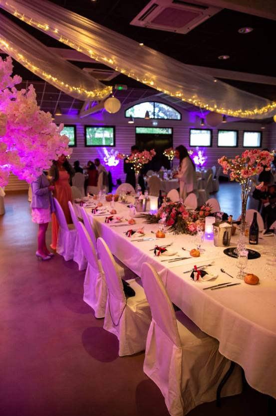 les tables de mariage